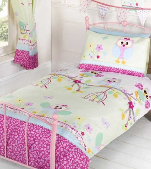 ... uiltjes uilen meisjes peuter baby kamer goedkoop roze wit mooi uniek